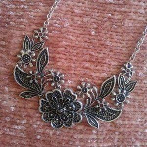 Modcloth Botanical Statement Collar Necklace